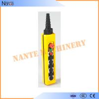 Wholesale Single Speed AS4 Industrial Remote Pendant Control Stations Overhead Crane Pendant Control from china suppliers