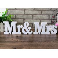 Buy cheap 8CM White Wooden Wooden Crafted Gifts 27 letters Modern English Alphabet Decoration from wholesalers