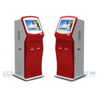 Buy cheap Lobby Computer Self Service Card Dispenser Kiosk With RS232 Interface , 50Hz to 60Hz from wholesalers