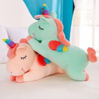 Buy cheap Cute Pink Stuffed Unicorn , Stretched Unicorn Stuffed Animal Cotton Material from wholesalers