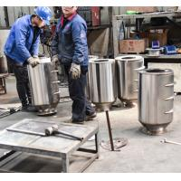 Buy cheap Permanent Drum Type Magnetic Separator , Magnetic Iron Separator For Feed Processing from wholesalers