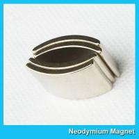 Buy cheap Sintered Neodymium Arc Magnets Ndfeb Permanent Magnet High Strength from wholesalers