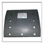 Buy cheap truck brake lining,drum liner WVA19591, BPW brake parts from wholesalers