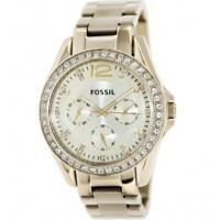 Buy cheap Fossil Women's Riley ES3203 Gold Gold Tone Stainles-Steel Analog Quartz Watch from wholesalers