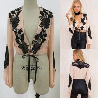 Buy cheap New fashion women tops puffed long sleeve ladies blouse designs from wholesalers