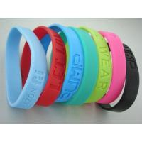 Buy cheap Silicon rubber bracelets from wholesalers