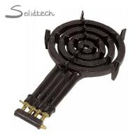 Wholesale Four Ring LPG Gas Burner Cast Iron 4 Pipes Cooker Outdoor Camping Wok Stove from china suppliers