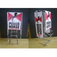 Buy cheap Iron Wire Food Display Stands For Can Dispenser Counter Top Easy Moving from wholesalers