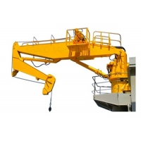 Buy cheap Offshore Hydraulic Telescopic Knuckle Boom Marine Deck Crane from wholesalers