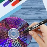 Wholesale Permanent Ink Type and Paper Writing Medium tip CD Permanent Marker from china suppliers
