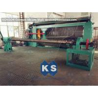 Buy cheap Hexagonal Wire Mesh Machine Woven Wire Mesh Machinery With 95% Aluminium Alloy Wire from wholesalers