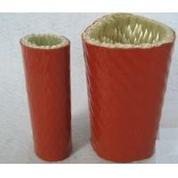 Quality Silicone Rubber Coated Fiberglass Sleeving  Heat-Insulation And Flame-Resistance for sale