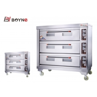 Buy cheap Commercial Bakery Deck Oven Three Deck Six Tray for Hotel Use from wholesalers