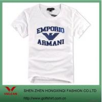Buy cheap Men's Casual T-shirt With 3d Letters Embroidered from wholesalers