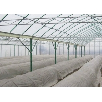Buy cheap Irrigated Clear Cooling Poly Plastic Film Greenhouse from wholesalers