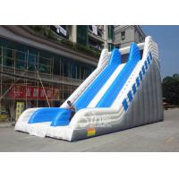 Buy cheap 9 meters high commercial adult giant inflatable slide for sale price from Guangzhou factory from wholesalers