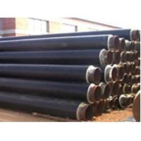 Buy cheap Black Jacket HDPE Insulated Steel Pipe ERW / SSAW Pipe API 5L API 5CT , APIJ55 - API P110 For Sewage Discharge Pipe from wholesalers