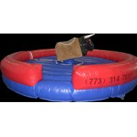 Buy cheap Digital printing Inflatable Mechanical Bull , Inflatable Rodeo Bull Machine from wholesalers