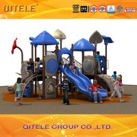 Buy cheap Used commercial playground equipment  plastic playground slide from wholesalers