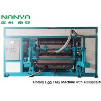 Buy cheap Automatic Pulp Molding Equipment / Rotary Recycle Paper Egg Tray Manufacturing Machine from wholesalers