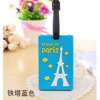Wholesale Company logo luggage tag with insert card from china suppliers