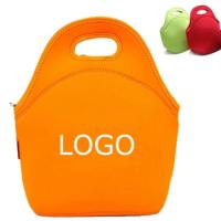 Wholesale Custom Eco-friendly neoprene insulated kids lunch bag.Size:30cm*30cm*16cm from china suppliers