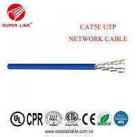 Buy cheap Nice price 4 pair UTPTwisted Pair Cable For 24AWG cate5e UTP lan cable from wholesalers