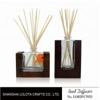 Wholesale Wooden Bottom Based Aroma Reed Diffuser , Home Scent Reed Diffuser Certificate from china suppliers