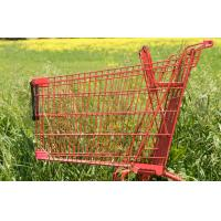 China grocery store shopping carts Made from aluminum Color options 630x560x1000mm on sale