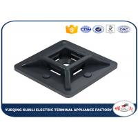 Buy cheap Nylon 66 Cable tie mounts holderwith ,94v-2 Self adhesive Tie Mount from wholesalers