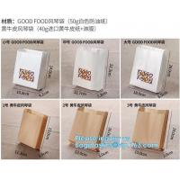 Buy cheap fried chicken hamburger fast food packaging wrapped bag plastic paper wholesale disposable custom printing,Deli food pac from wholesalers