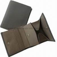 Buy cheap Men's Leather Wallet with Coin Pocket from wholesalers