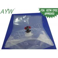 Buy cheap Transparent Plastic Vacuum Food Storage Bags Gas Resistnat With Evacuator from wholesalers