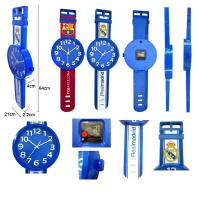 Buy cheap OEM fashion design watch shape wall clock from wholesalers