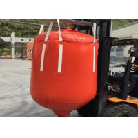 Buy cheap 1 Ton - 2.5 Ton PVC Recycled Big Bag Cone Bottom / Flat Bottom With Spout from wholesalers