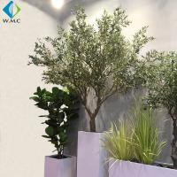 Wholesale Fiberglass Trunk Artificial Olive Tree 2.5m Height 5-10 Years Life Time from china suppliers