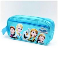 Frozen Ana Elsa Cartoon Plush Pencil Case Pouch Animal Zipper Pencil Pouch Manufactures