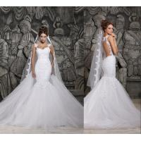 Wholesale Backless Mermaid Wedding Dresses / gorgeous wedding dresses from china suppliers
