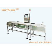 Buy cheap 220V Check Weigher Machine High Accuracy Detecting Rejected Products from wholesalers