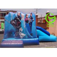 Buy cheap 2016 hot sell   frozen inflatable bouncer  with 24months warranty GT-BC-1831 from wholesalers