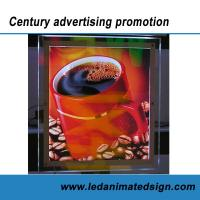 Buy cheap Business advertising crystal light box from wholesalers