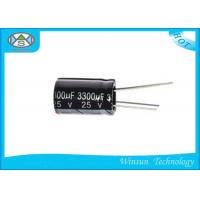 Buy cheap 25V / 330uF Capacitor For Washing Machines , 1uf 400v Capacitor CD110X OEM Approved from wholesalers