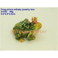 Buy cheap Frog prince w/baby jewelry box from wholesalers
