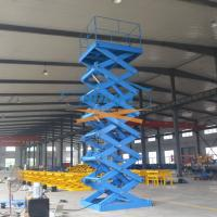 Buy cheap 5T 6M Heavy Duty Stationary Hydraulic Scissor Lift Warehouse Cargo Lift With CE from wholesalers