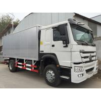Buy cheap White Commercial Cargo Truck 16 Tons 15 CBM One Sleeper Cab High Roof from wholesalers