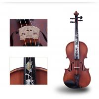 Buy cheap Tianyin Brand New Natural Ebony Professional Grading Test Violin Instruments  High Grade Hand made Solo Playing Violin from wholesalers