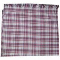 Wholesale Cashmere-like Scarf, Customized Specifications are Accepted, Measuring 67x178 + 10x2cm from china suppliers
