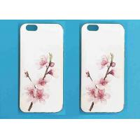 Buy cheap Floral Cell Phone Silicone Cases Apple Phone Protector Back Cover Case Top Copy from wholesalers