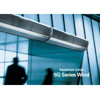 Buy cheap Aluminum Silver Overhead Door Commercial Air Curtains With Low Noise from wholesalers
