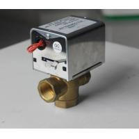 Buy cheap 2 / 3 Port Motorized Zone Valve Replacement Electric Motor Power CE Listed from wholesalers